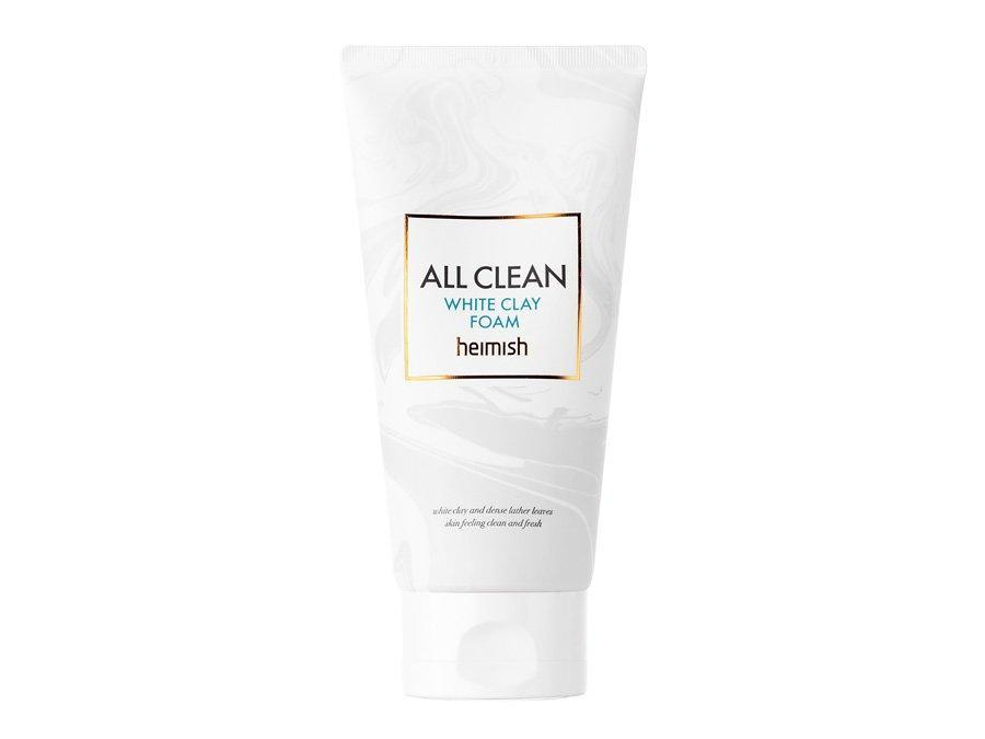 Пінка для очищення шкіри з білою глиною Heimish Clean All White Clay Foam 30г