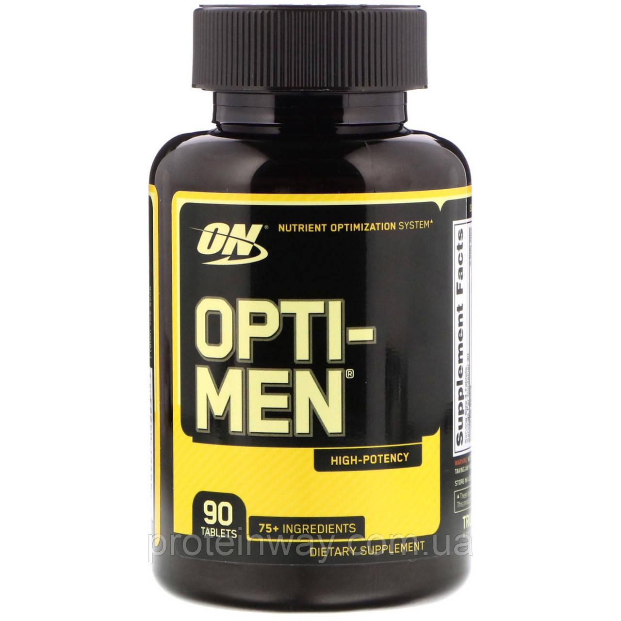 Optimum Nutrition Витамины Opti-men 90 таб