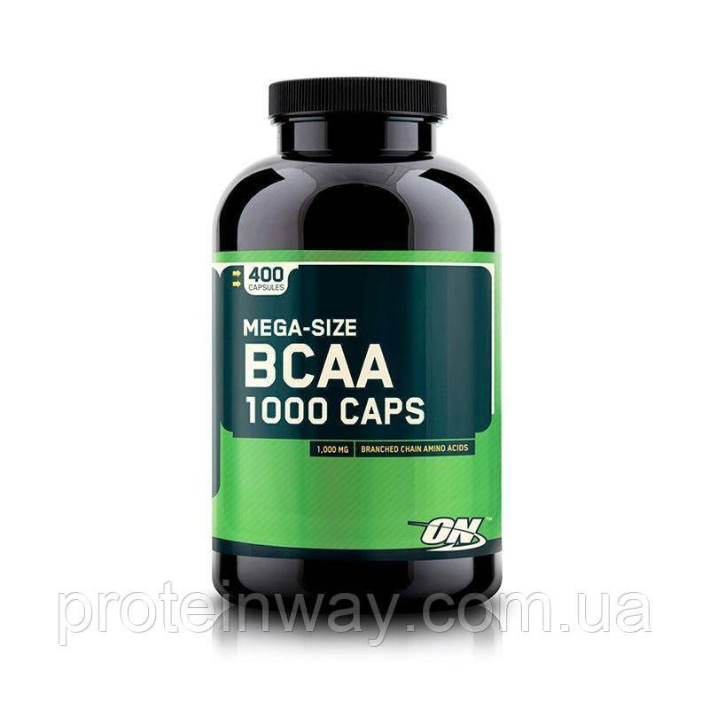 Optimum Nutrition BCAA 1000 400 капс
