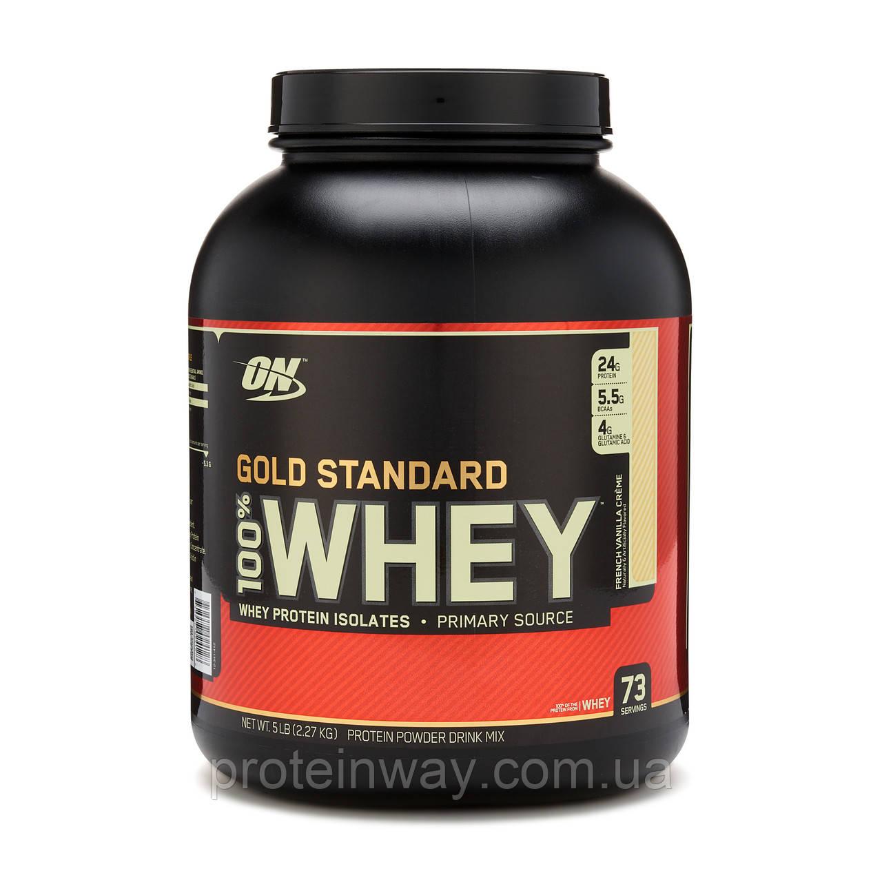 Optimum Nutrition Сывороточный протеин 100% Whey Gold Standard 2270g