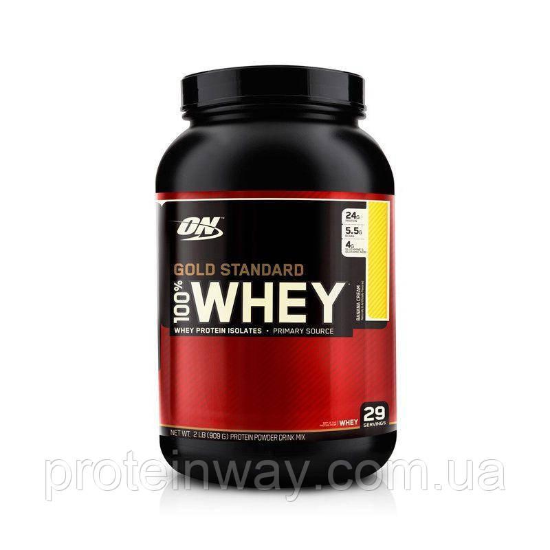 Optimum Nutrition Сывороточный протеин  100% Whey Gold Standard 909g