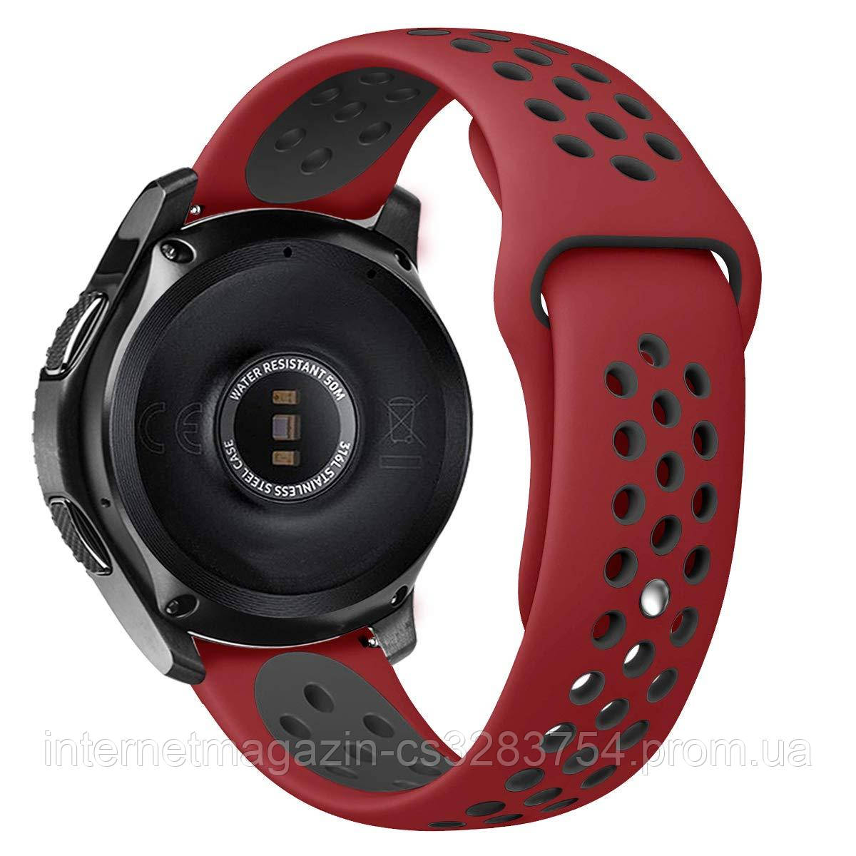 Ремешок BeWatch sport-style для Samsung Gear 3  Red-Black (1020131)