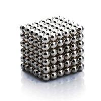 Неокуб, neocube 5 мм, никель - магнитный конструктор головоломка, магнитные шарики