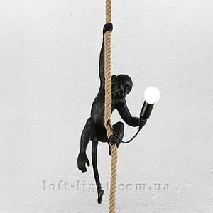 Люстра подвес  обезьяна  909-VXL8051-1 BK