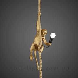 Люстра подвес  обезьяна  909-VXL8051-1 GD