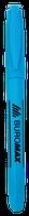 Текст-маркер, JOBMAX, круглый,синий