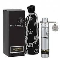 Чоловічий міні парфум MONTALE Black Aoud, 20 мл
