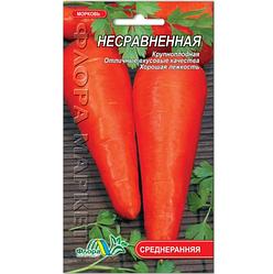 Семена Морковь Несравненная среднеспелая семена 2 г