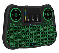 Бездротова міні-клавіатура з LED підсвічуванням і тачпадом Mini Keyboard T08