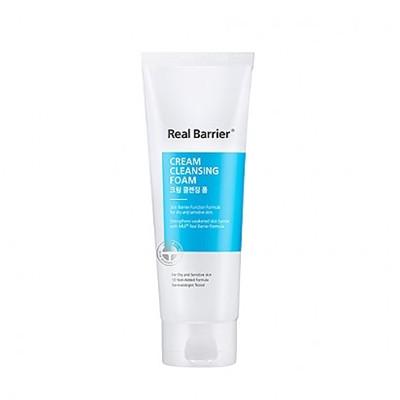 Нежная пенка для умывания Real Barrier Cream Cleansing Foam 15g