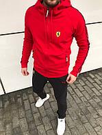 Мужской спортивный костюм Ferrari.Весна 2020