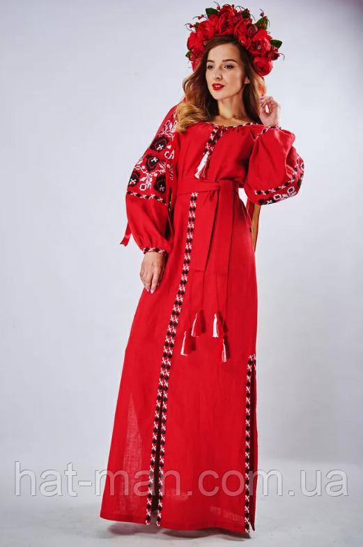 """Сукня """"Чарівність"""", червона"""