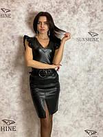 Женское боди из кож зама Poliit 2031, фото 1