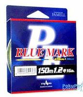 Шнур Yamatoyo PE Blue Mark 150m No. 0.3(4lb) Fluo Yellow