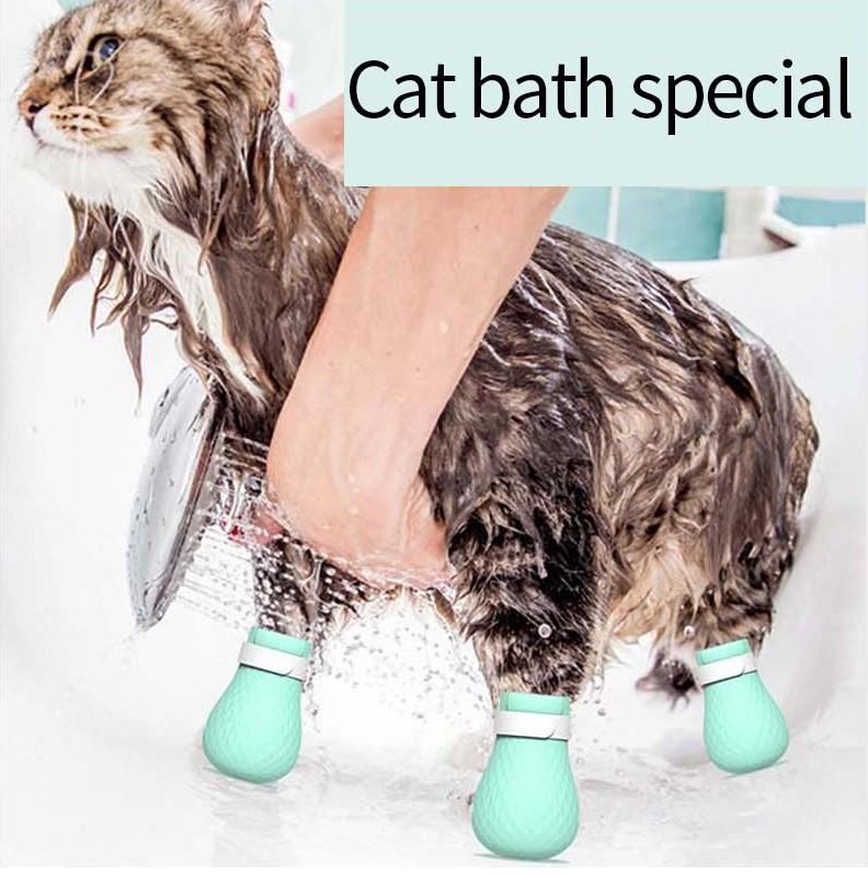 Силиконовые антицарапающие накладки для кошек Cat Protector 4 шт