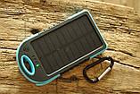 Павер банк Solar Power Bank 50000 mAh. Солнечная батарея Solar Power Bank 50000 mAh, фото 5
