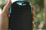 Павер банк Solar Power Bank 50000 mAh. Солнечная батарея Solar Power Bank 50000 mAh, фото 9