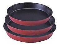 Набор Формы для выпечки |Ø 360*320*280 мм;h-40 мм| антипригарное покрытие