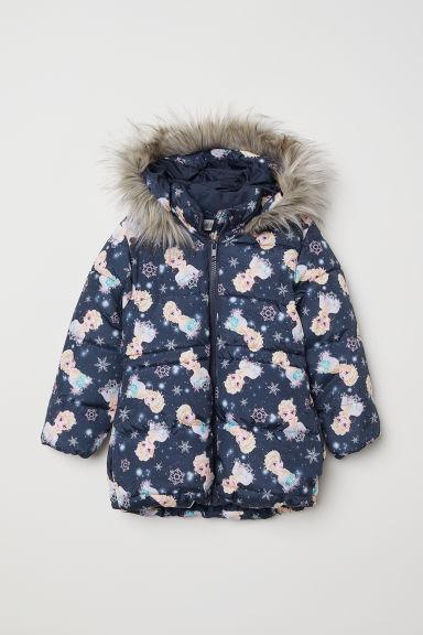 Куртка синяя Ельза H&M р.86/92см