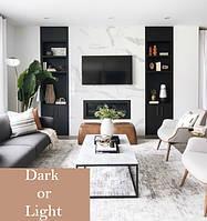 Які кольори вибрати при оформленні інтер'єру? Світлий або темний?
