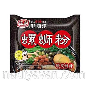 Рисовая лапша быстрого приготовления 100г с речными улитками   Chen Chun, фото 2