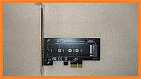 PCI-E -> M.2 ( NVMe ) SSD ключ M X1 переходник адаптер + низкопрофильная планка