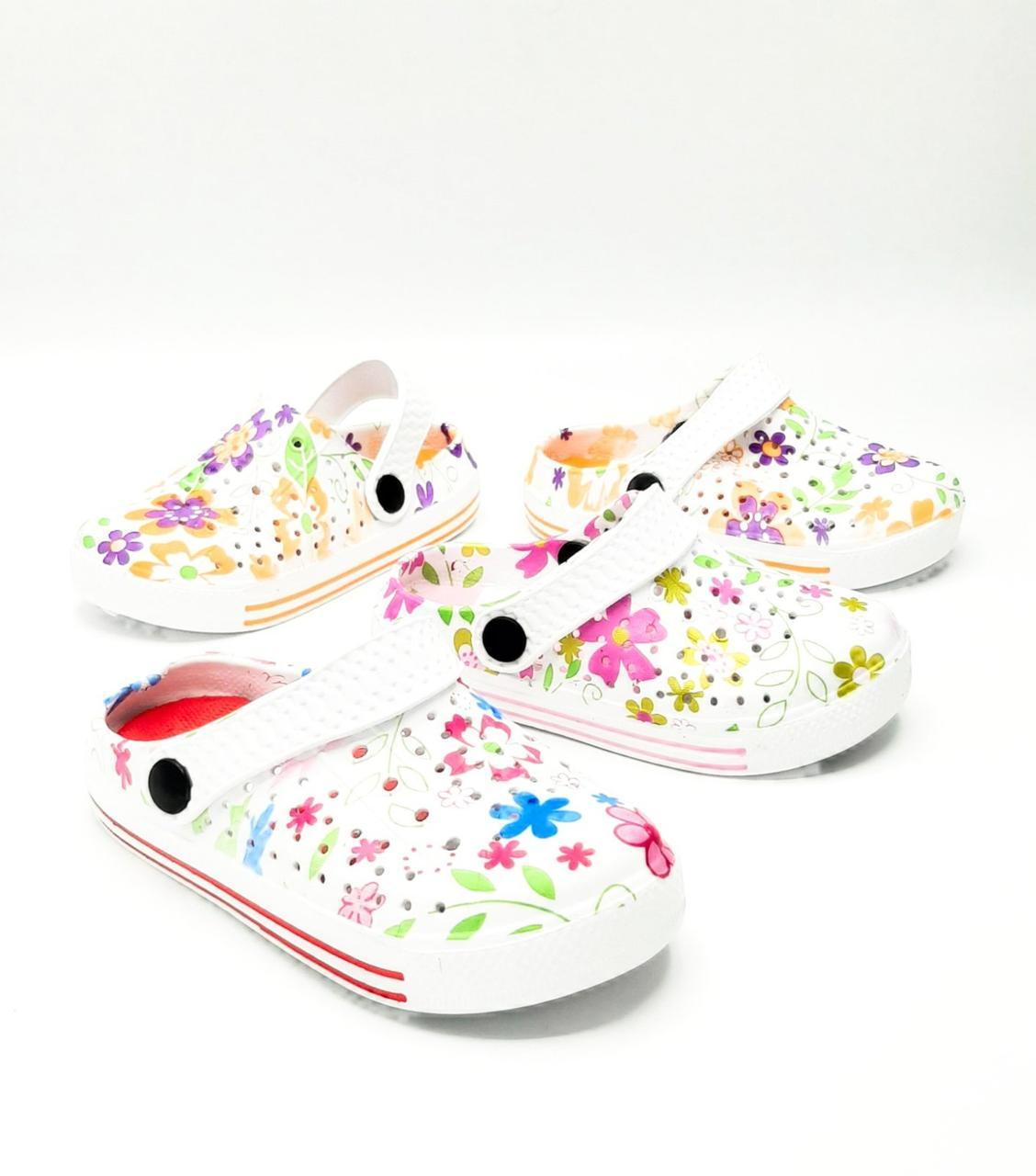 Детские Кроксы 24-29  Цветные  80357-2