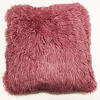 Наволочка декоративная травка  50/50 розовая