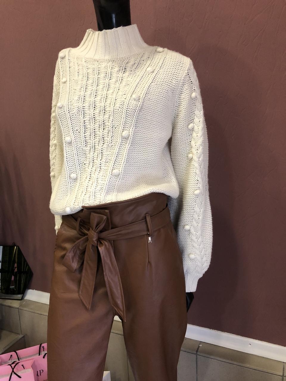 Женский свитер, Marina V FW19-157, крупной вязки