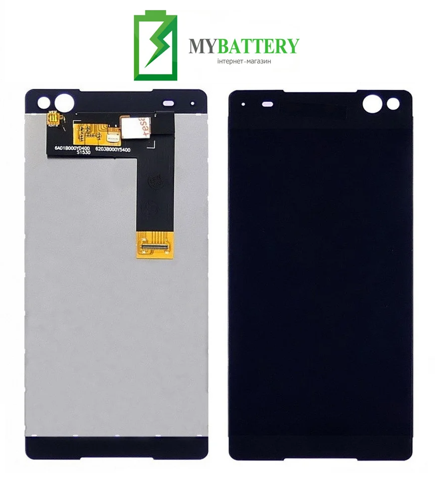 Дисплей (LCD) Sony E5506 Xperia C5 Ultra/ E5533/ E5563 с сенсором черный