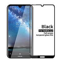 Захисне скло для Nokia 2.2 чорний, фото 1