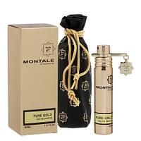 Жіночий міні парфум MONTALE Pure Gold, 20 мл