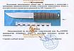 Нож охотничий для разделки, освежевания туш  и кухоннно-полевых работ, фото 3