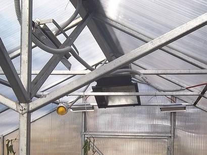 Отопление теплицы Эко стар 1300 (до 12 м2)