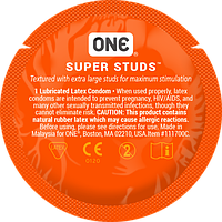 Презервативы ONE Super Studs (точечные), фото 1