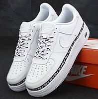 Женские кроссовки Nike Air Force 1 Low белые 1в1 Как Оригинал! Найк аир форс ТОП (ААА+)