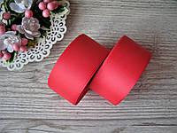 Лента репсовая, на метраж, ширина 4 см, цвет красный, 4 грн за метр.