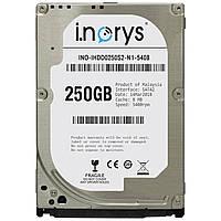 Жесткий диск i.norys 2,5 дюйма 250GB 5400rpm 8MB (INO-IHDD0250S2-N1-5408) комплектующее для компьютера