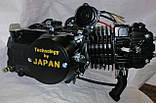 Двигатель125 кубів на мопед чорний, фото 2