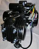 Двигатель125 кубів на мопед чорний, фото 4