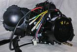 Двигатель125 кубів на мопед чорний, фото 3