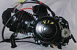Двигатель125 кубів на мопед чорний, фото 5