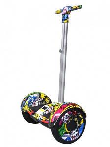 "Гироскутер с ручкой А8 Smart Balance 10.5"" хип-хоп"