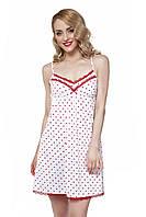 Женская ночная рубашка ELLEN LND 201/002 в сердечки