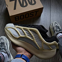 Мужские кроссовки Adidas Yeezy 700 v3 AZAEL. Фото в живую. Реплика топ