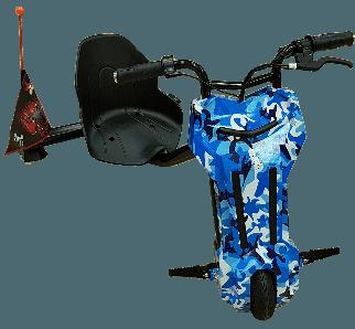 Дрифт-карт элеткроскутер Windtech Drift Cart 8″ Crazy Bug голубой мелитари