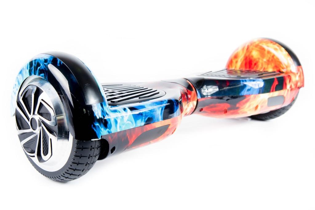 """Гироскутер Smart Balance Small 6.5"""" огонь и лед"""