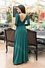 Восхитительное женское платье Зеленое. (4 цвета) Р-ры: 42-48. (104)447.