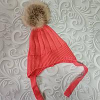 Демисезонная шапка детская