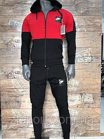 Трикотажный спортивный костюм Nike з капюшоном (Турция)
